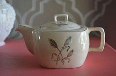 Vintage Stylecraft Midwinter Staffordshire Semiporcelain Tea Pot Made in England #Midwinter