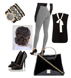 """""""Office wear"""" by shabana-khan-1 on Polyvore featuring Paule Ka and Jessica Carlyle"""