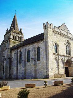 Cunault Abbey Romanesque #Church