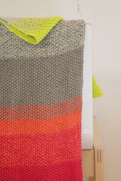 Gradient cowl - pattern by Burl Bee