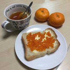 #ностальжи #мандарины #икра #чай
