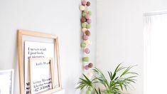 Cotton Ball Lights lichtslinger | Sfeerverlichting woonkamer | lichtslinger | Zomer decoratie