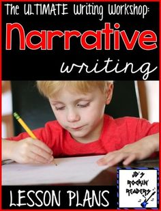 Narrative Writing Lesson Plans: The Ultimate Writing Workshop - Kindergarten Lesson Guided Reading Lesson Plans, Writing Lesson Plans, Writing Lessons, Writing Ideas, Creative Writing, Personal Narrative Writing, Kindergarten Lessons, Kindergarten Writing, Writer Workshop