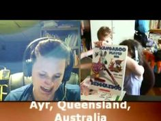 Since Joanne Kaminski does reading tutoring via Skype, she is able to tutor children in reading all over the world.  Here is a student sharing her experience about living in Australia.
