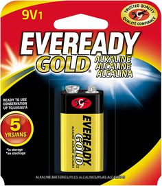 Amazon.com: EVEREADY 9V Battery, 9 Volt Alkaline (1 Count): Health & Personal Care Cleaning Items, Counting, Personal Care, Amazon, Health, Kitchen, Accessories, Shopping, Self Care