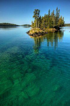 Robinson Bay, Isle Royale National Park, Michigan