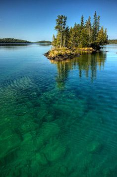 Robinson Bay, Isle Royale National Park, Michigan