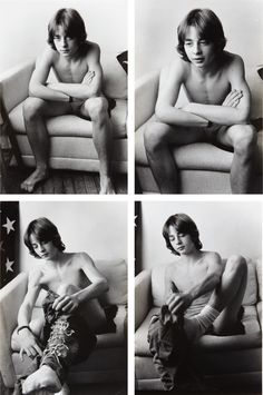LARRY CLARK | Selected Images, 1992 | Four gelatin silver prints and the book Larry Clark 1992  Sold for $8,125 at the Photographs sale, 4 A...