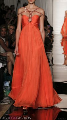 #orange chiffon...