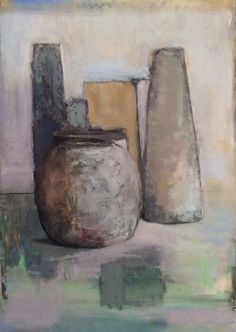 """Counting Vessels. 2014-15. 13.5"""" x 9.5."""" Pastel, Oil, Compressed Charcoal & Graphite. Casey Klahn."""