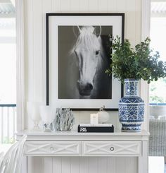 Leilani Ryder   Interior Decorating & Styling   Modern Hamptons Style Living   Console Styling