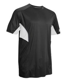 Russell Athletic Men's Dri-Power Tee with Reflective Accents