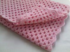 Crochet PATTERN Baby Blanket by MyLittleRainbowShop on Etsy