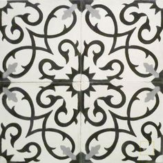 Lucifer C14-4-24 Mosaic House Cement Tile