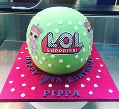 LOL Surprise Ball Birthday Cake