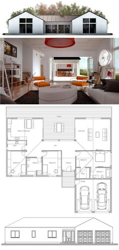 Small House Plan bungalow #1 love it!
