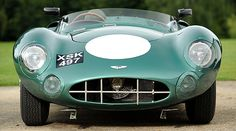 DBR1/2, the winning car at the 1959 Le Mans 24 Hours. Roy Salvadori, Carol Shelby