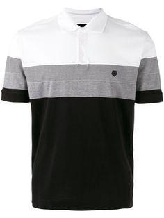 Camisa polo com recortes Camisetas Masculinas Polo afc9c1b52e575