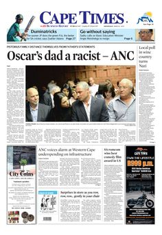 News making headlines: Oscar's dad a racist - ANC