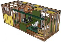 container homes plans uk