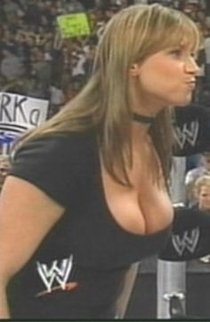from Hector stephanie mcmahon with no bra on nakied