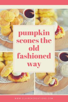 Looking for a recipe for pumpkin scones the old fashioned way (just like CWA pumpkin scones)? Stop here - no mixer required easy pumpkin scone recipe. How To Make Pumpkin, Mothers Day Breakfast, Fire Cooking, Pumpkin Pancakes, Eat Lunch, No Bake Treats, Pumpkin Recipes, Tray Bakes, Pumpkin Spice