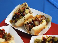 No ticket left behind: Get more for your money at Taste of Chicago by following these tips from Chicago Tribune's Phil Vettel. Shown here: Rabbit-and-rattlesnake sausage from Chicago's Dog House, pictured at June's Taste of Chicago Preview, is on Phil Vettel's no-ticket-left-behind hit list. (Phil Velasquez, Chicago Tribune) http://www.chicagotribune.com/dining/ct-ent-0708-taste-tickets-20150707-column.html