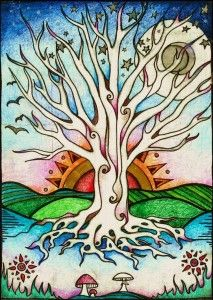 Tree of Life: Drawing Your Strength.