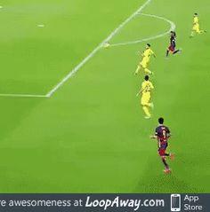 Neymar in Barcelona vs Villarreal match Soccer Gifs, Soccer Memes, Soccer Quotes, Soccer Training Drills, Soccer Drills, Soccer Players, Fifa, Shaolin Soccer, Fc Barcalona