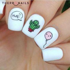 They are just so cuteeeeeeeeeee #cute #nails #design