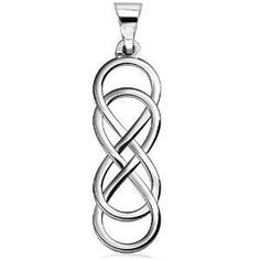 Infinity Love Symbol | Extra Large Double Infinity Symbol Charm, Lovers Charm, Eternal and