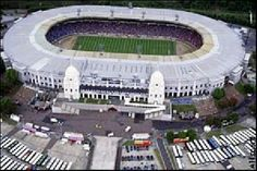 Old Wembley Stadium. (Visits: 1) England v Brazil schoolboys 1998