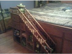 Place a bid on Custom Made Dog Steps Stairs to help support the Furever Dachshund Rescue fundraising auction. Dog Ramp For Bed, Pallet Dog Beds, Dog Stairs, Dachshund Rescue, Cat Condo, Pet Life, Diy Stuffed Animals, Dog Houses, Pet Stuff