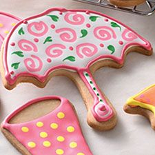 Cute new shapes from King Arthur Flour - maybe I should start a Cookie Cutter board!? Look at those rain galoshes - is that how you spell it?