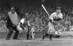 Lou Gehrig, the Iron Horse, a legend at first base for the Yankees in the '20s and '30s.