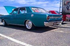 Australian Muscle Cars, Aussie Muscle Cars, Ford Falcon, Ford Girl, Old School Cars, Car Ford, Drag Racing, Hot Cars, Vintage Cars