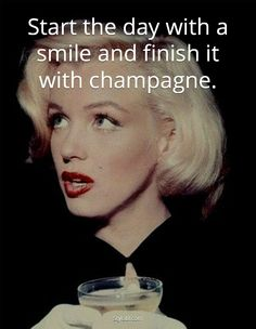 Start the day with a smile ! We love champagne, we talk about it, share the best pictures and more ... www.the-champagne.ch