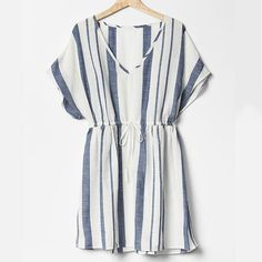 Seaside Stripes - The Best Cover Ups for Summer - Coastal Living