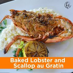 RECIPEASY: Baked Lobster and Scallop au Gratin