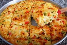 Cookbook Recipes, Cooking Recipes, Greek Recipes, Quiche, Mashed Potatoes, Recipies, Pizza, Rolls, Cheese