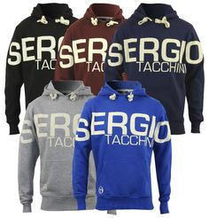 Sergio Tacchini Falcone Hooded Sweater Men