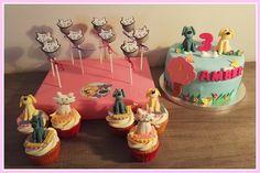 Woezel en pip taart, cupcakes, cakepops