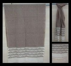 Jamdani Stole (available in different colours)