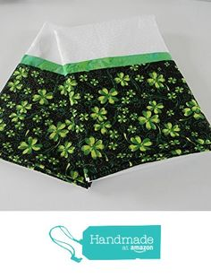 Set of two Irish Shamrock St. Patricks Day Pillowcases from Dimas Grams Quilts http://www.amazon.com/dp/B01BVW4DSA/ref=hnd_sw_r_pi_dp_X8lXwb19VZBBV #handmadeatamazon