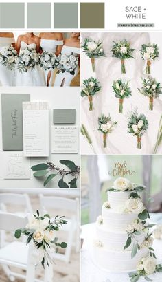 sage wedding color, silver sage wedding, sage wedding colors , sage green and ivory wedding theme , wedding color green wedding color Fuchsia Wedding Colors, Popular Wedding Colors, Summer Wedding Colors, Champagne Wedding Themes, Gold Wedding Theme, Wedding Ideas, Sage Wedding, Ivory Wedding, Green Wedding