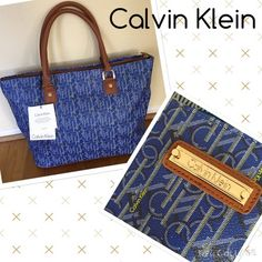 DEAL OF THE DAYCalvin Klein overnight bag NWT Calvin Klein travel bag in a striking blue color.  Big zipper pocket inside. Great for a weekend getaway. measures 19x13 Calvin Klein Bags Travel Bags