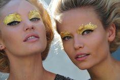Secret Hipster: Gold Leaf Makeup