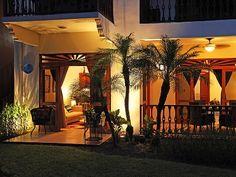 Jaco condo rental - Terrace at night