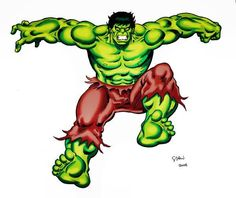 The Hulk in The Hulk Machine