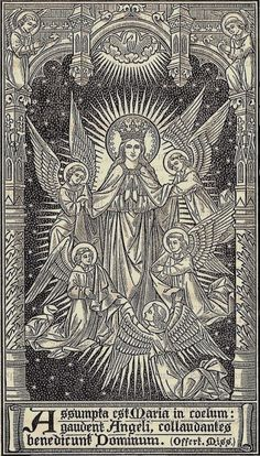 allaboutmary: Happy feast of the Assumption. May the Mother of God and Queen of Heaven love and protect you all!